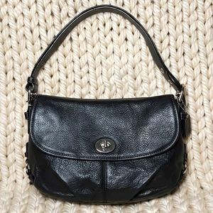 Coach Legacy Turnlock Flap Convertable X-body Bag